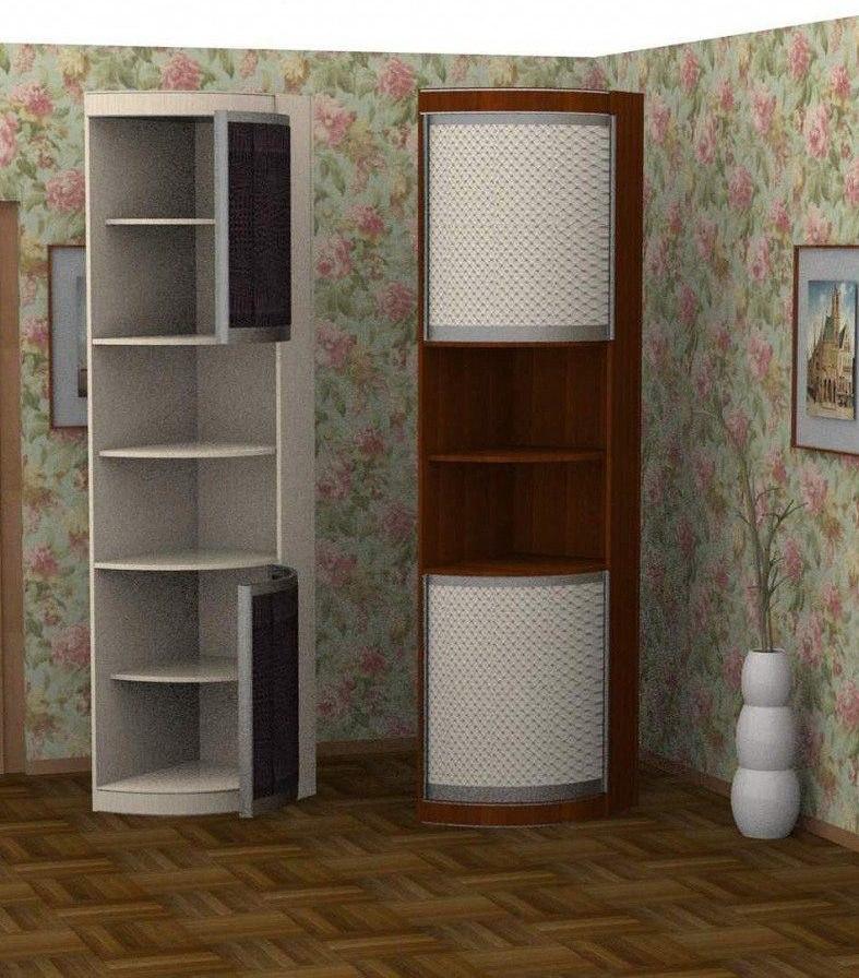 Радиусный шкаф-купе № 23 3