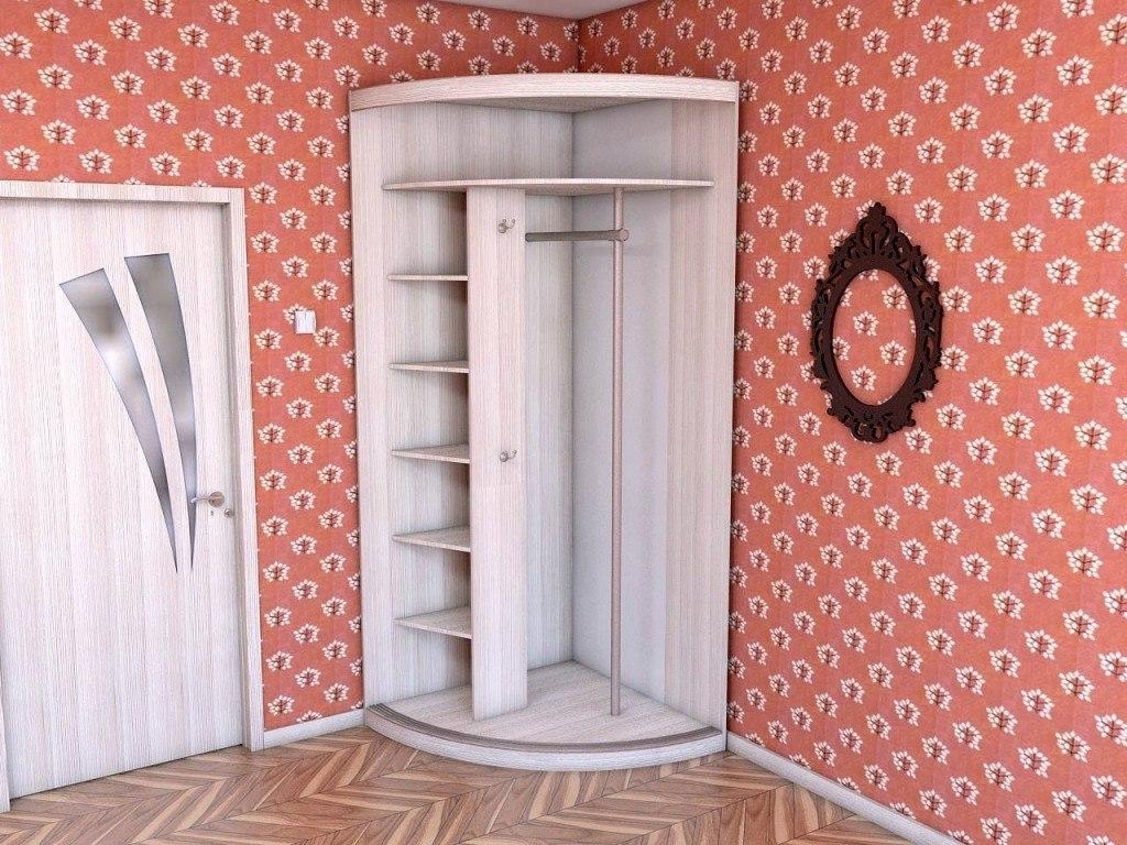 Радиусный шкаф с фотопечатью 3